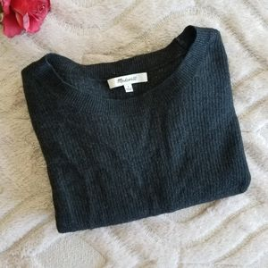 Madewell wool blend sweater high low